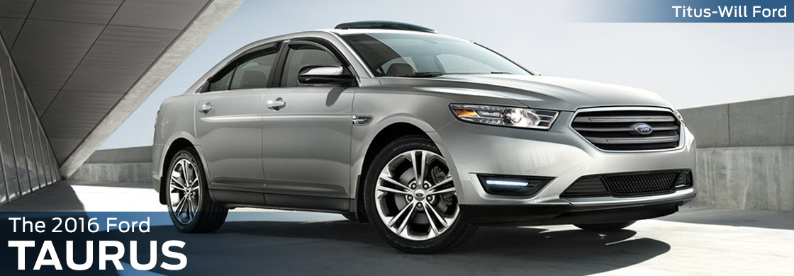 2016 Ford Taurus Model Features & Details
