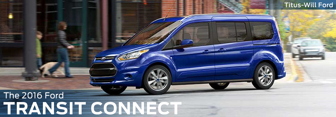 2016 Ford Transit Connect Model Features & Details