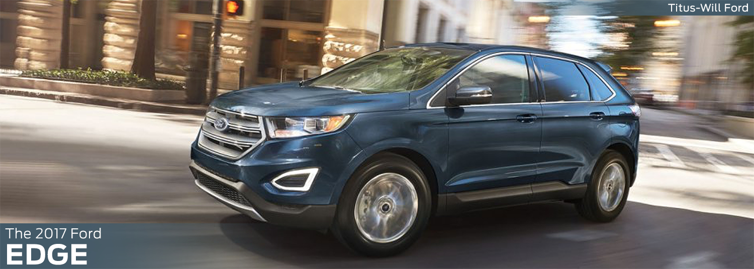 Research the new 2017 Ford Edge model information at Titus Will Ford in Tacoma, WA