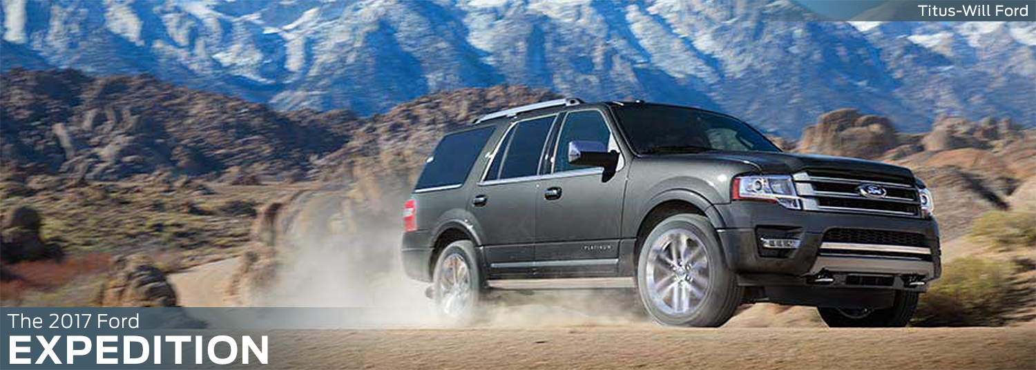 Research the new 2017 Ford Expedition model at Titus Will Ford in Tacoma, WA