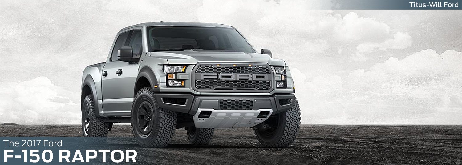 Research the new 2017 Ford F-150 Raptor model at Titus Will Ford in Tacoma, WA