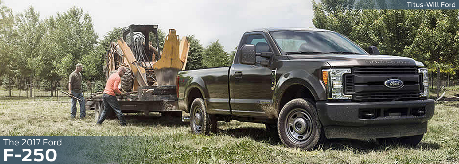 Research the new 2017 Ford F-250 model at Titus Will Ford in Tacoma, WA
