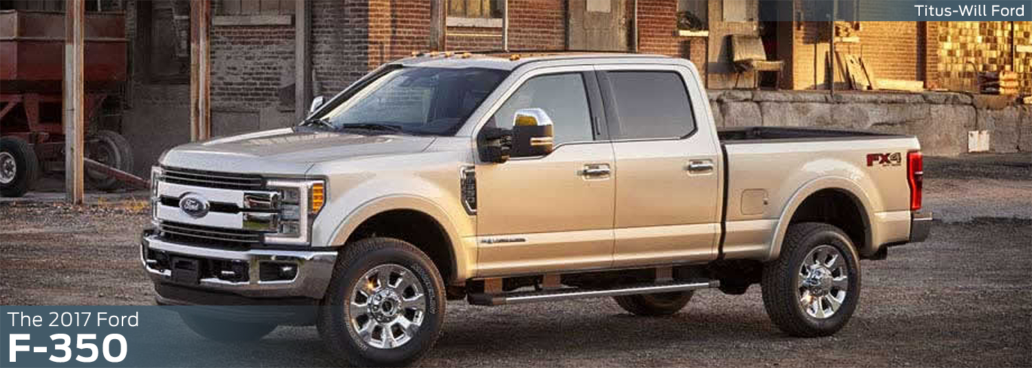 Research the new 2017 Ford F-350 model at Titus Will Ford in Tacoma, WA