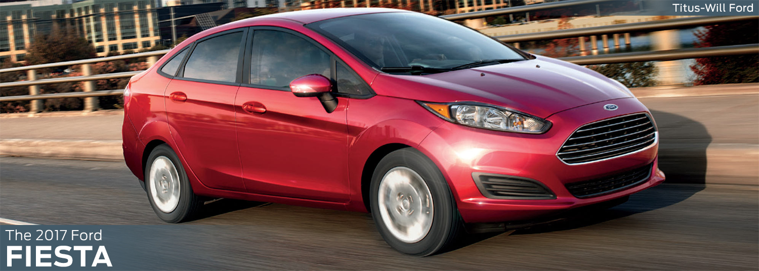 New 2017 Ford Fiesta Model Information