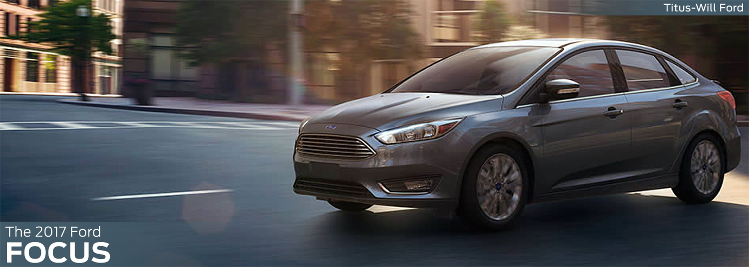 Research the new 2017 Ford Focus model at Titus Will Ford in Tacoma, WA