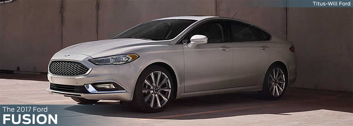 Research the new 2017 Ford Fusion model at Titus Will Ford in Tacoma, WA