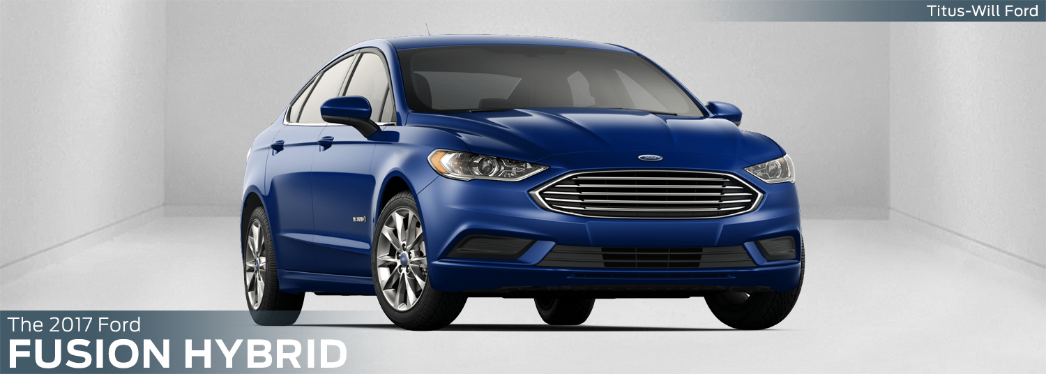 New 2017 Ford Fusion Hybrid Model Information