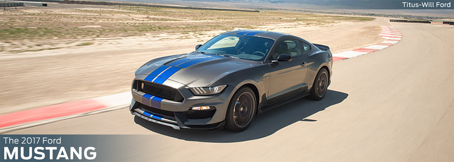 Research the new 2017 Ford Mustang model at Titus Will Ford in Tacoma, WA