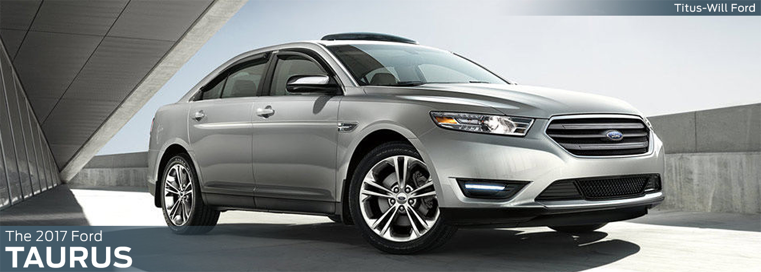 Research the new 2017 Ford Taurus model at Titus Will Ford in Tacoma, WA