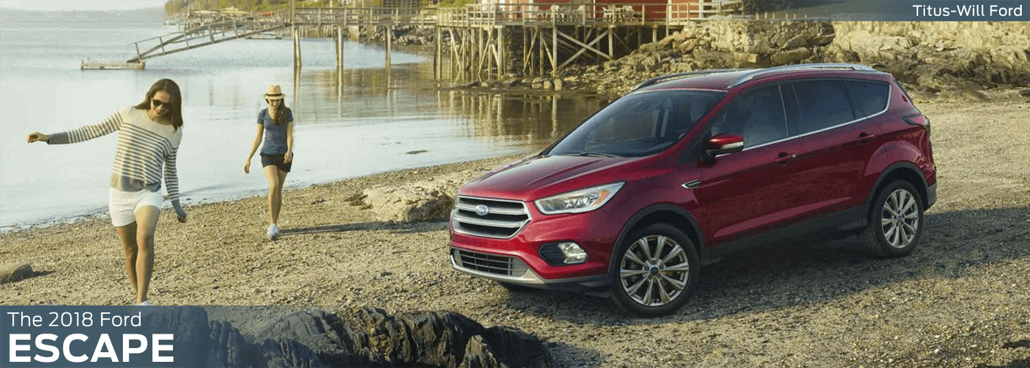 2018 Ford Escape model features, specs and technology information