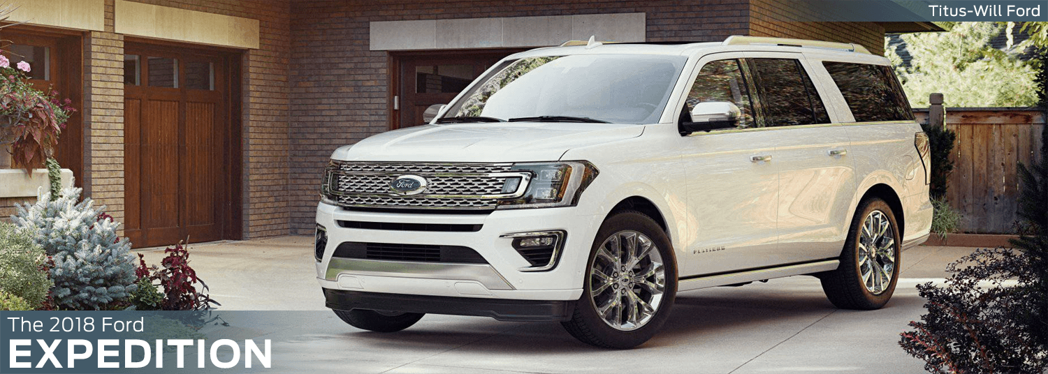 2018 Ford Expedition model features, specs and technology information
