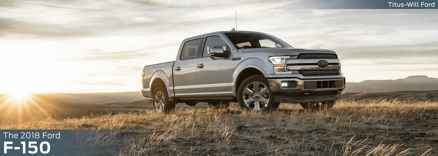 2018 Ford F-150 model features, specs and technology information