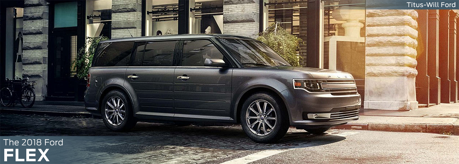 Research the 2018 Ford Flex model at Titus Will Ford in Tacoma, WA