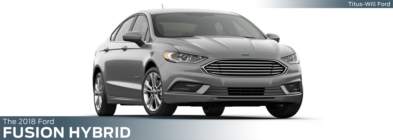 2018 Ford Fusion Hybrid model features, specs and technology information