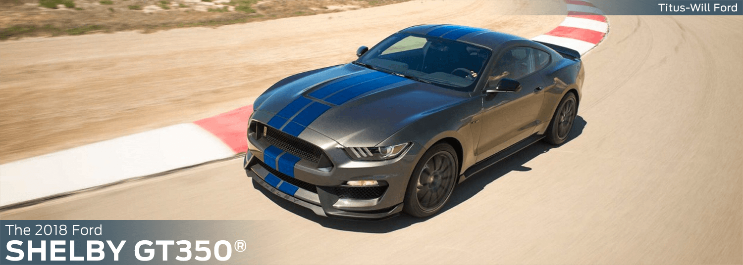 Research the 2018 Mustang Shelby GT350 model at Titus Will Ford in Tacoma, WA