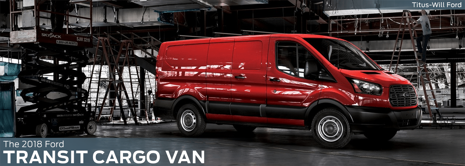2018 Ford Transit Cargo Van model features, specs and technology information