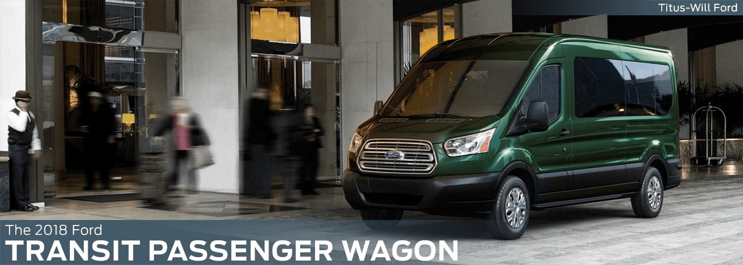 2018 Ford Transit Passenger Wagon model features, specs and technology information