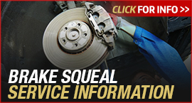 Click to View Information about our Toyota Brake Squeal Service