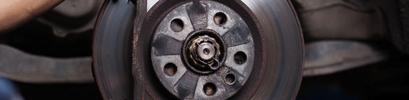 Learn more about our front brake rotor replacement service