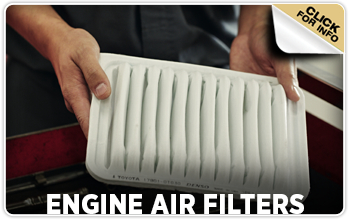 Click to learn about Toyota engine air filters in Tacoma, WA