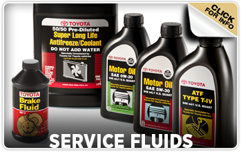 Click to learn about Toyota service fluids in Tacoma, WA