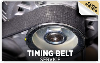 Click to learn about our Toyota timing belt service in Tacoma, WA