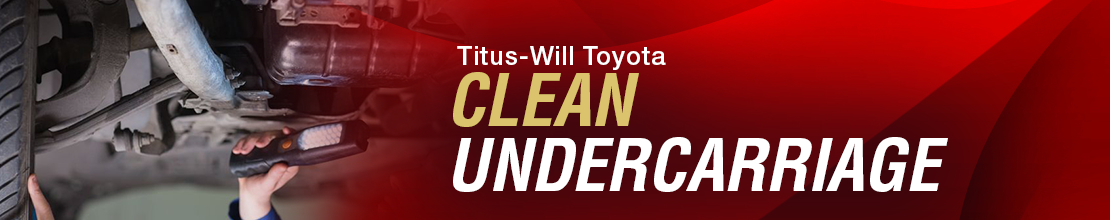 Toyota Undercarriage Cleaning Service Information in Tacoma, WA
