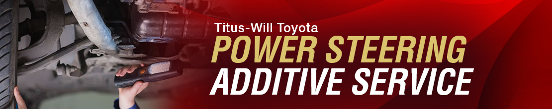 Toyota Power Steering Fluid Additive Undercarriage Service Information in Tacoma, WA