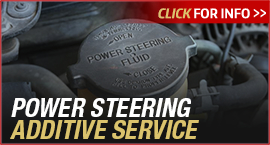 Click to browse our Toyota undercarriage power steering additive service information in Tacoma, WA