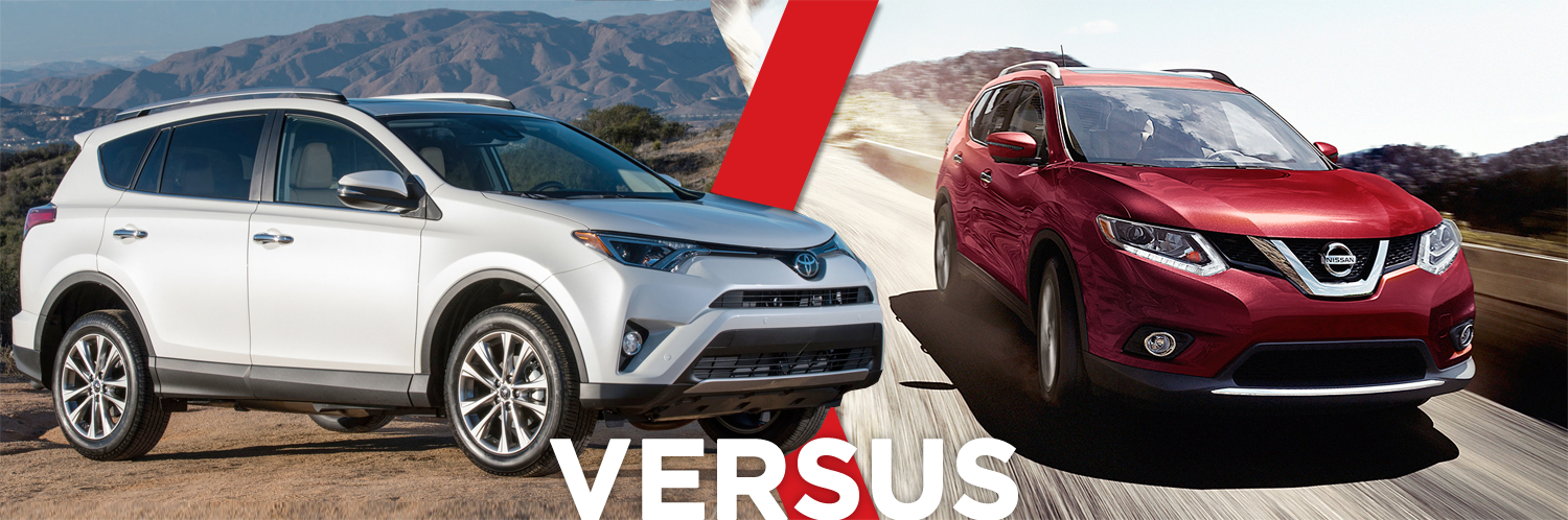 Compare the 2016 Toyota RAV4 vs the 2016 Nissan Rogue at Titus-Will Toyota in Tacoma, WA