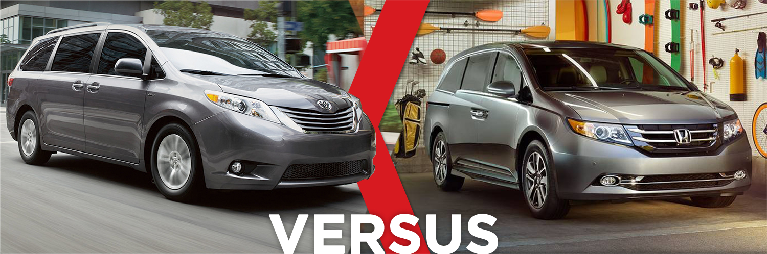 Research the comparison between the 2016 Toyota Sienna vs Honda Odyssey at Titus-Will Toyota in Tacoma, WA