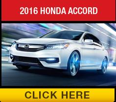 Compare the 2016 Toyota Camry vs the 2016 Honda Accord