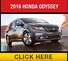 Compare the 2016 Toyota Sienna vs the 2016 Honda Odyssey
