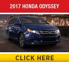 Compare the 2017 Toyota Sienna vs the 2017 Honda Odyssey