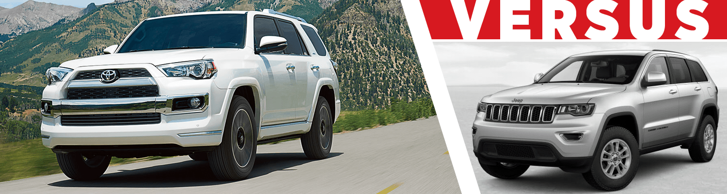 Compare the 2018 Toyota 4Runner & 2018 Jeep Grand Cherokee models at Titus Will Toyota in Tacoma, WA