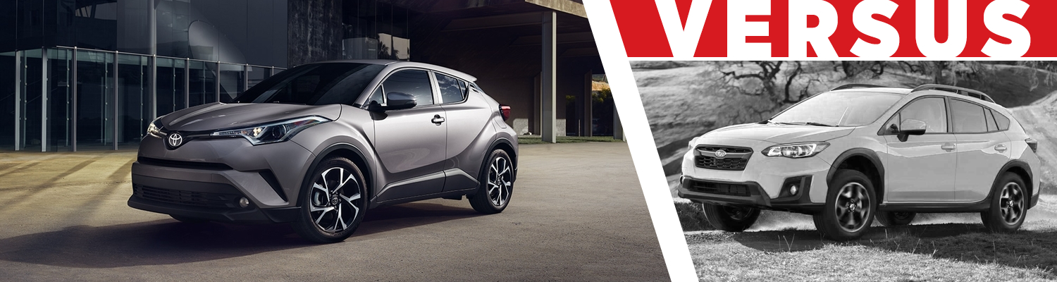 Compare the 2018 Toyota CH-R & 2018 Subaru Crosstrek models at Titus Will Toyota in Tacoma, WA