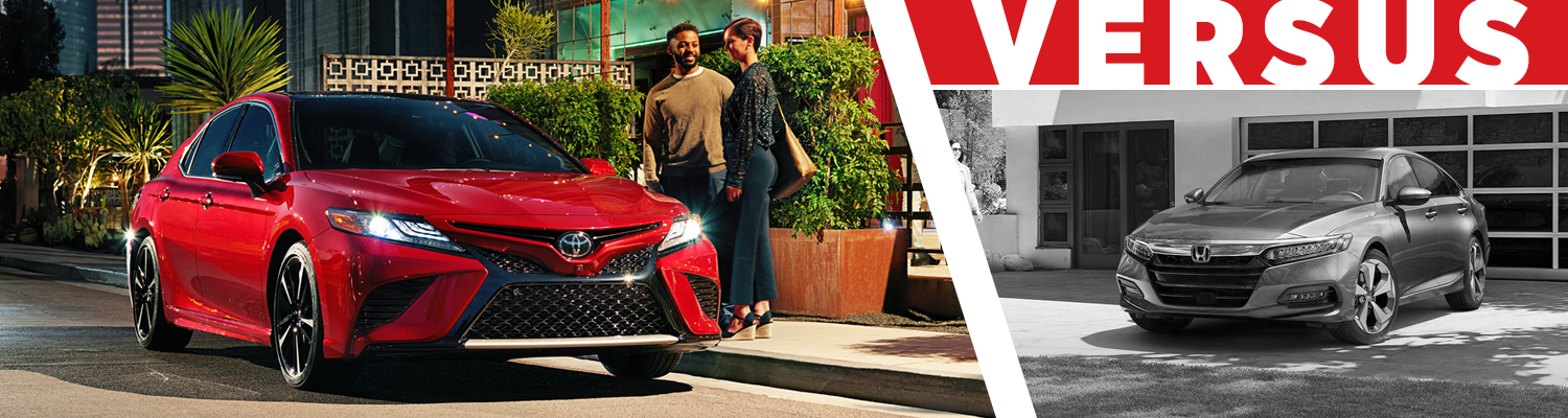 Compare the 2018 Toyota Camry & 2018 Honda Accord models at Titus Will Toyota in Tacoma, WA