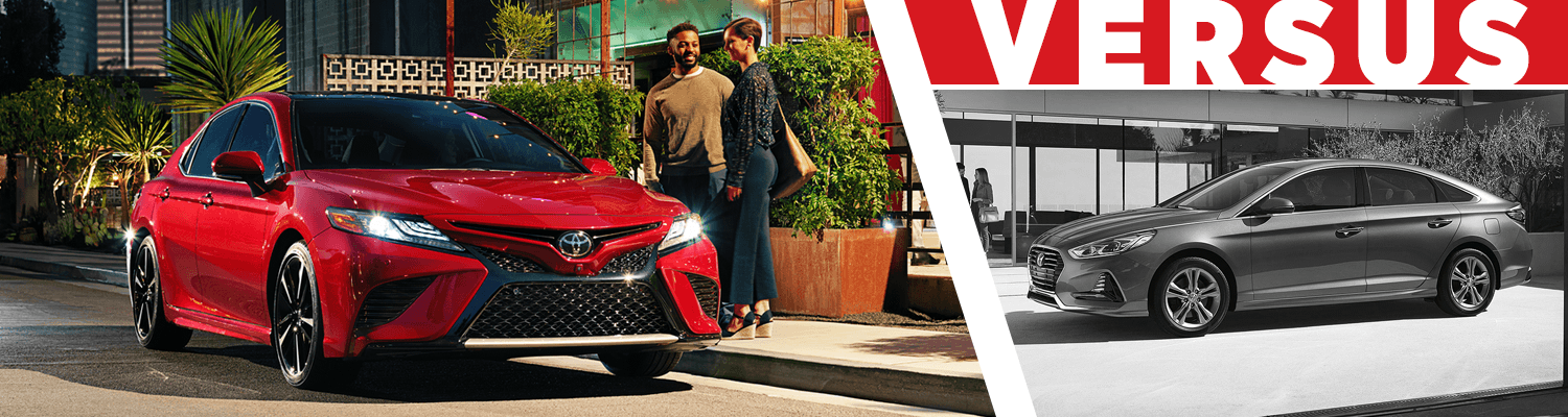 Compare the 2018 Toyota Camry & 2018 Hyundai Sonata models at Titus Will Toyota in Tacoma, WA