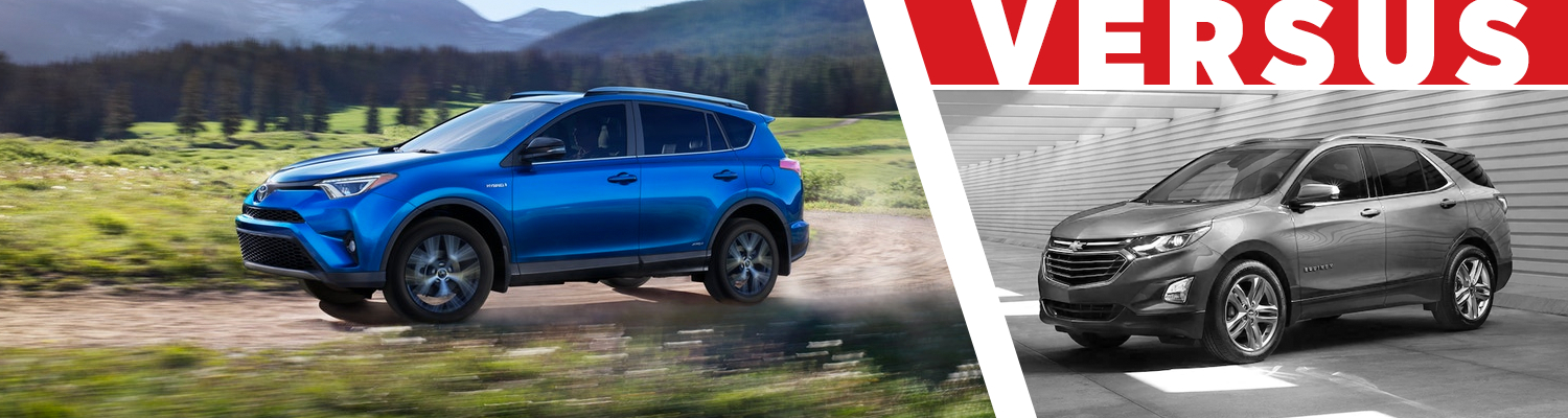 Compare the 2018 Toyota RAV4 & 2018 Chevrolet Equinox models at Titus Will Toyota in Tacoma, WA