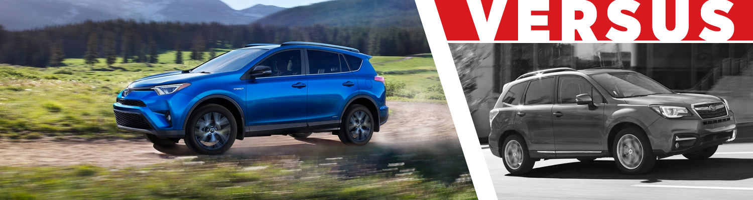Compare the 2018 Toyota RAV4 & 2018 Subaru Forester models at Titus Will Toyota in Tacoma, WA