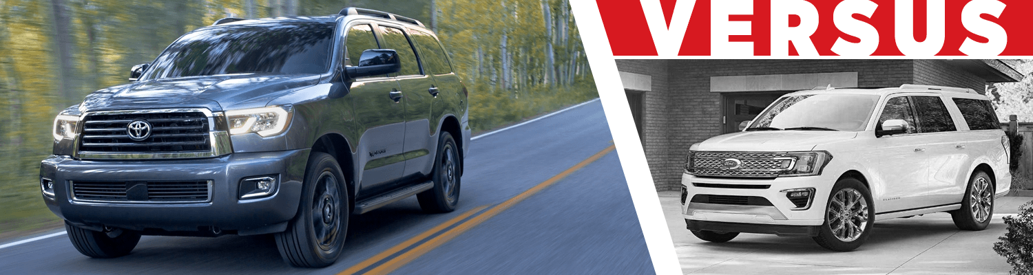 Compare the 2018 Toyota Sequoia & 2018 Ford Expedition models at Titus Will Toyota in Tacoma, WA