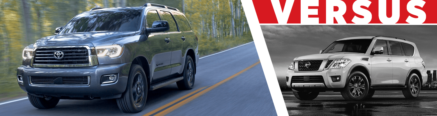 Compare the 2018 Toyota Sequoia & 2018 Nissan Armada models at Titus Will Toyota in Tacoma, WA
