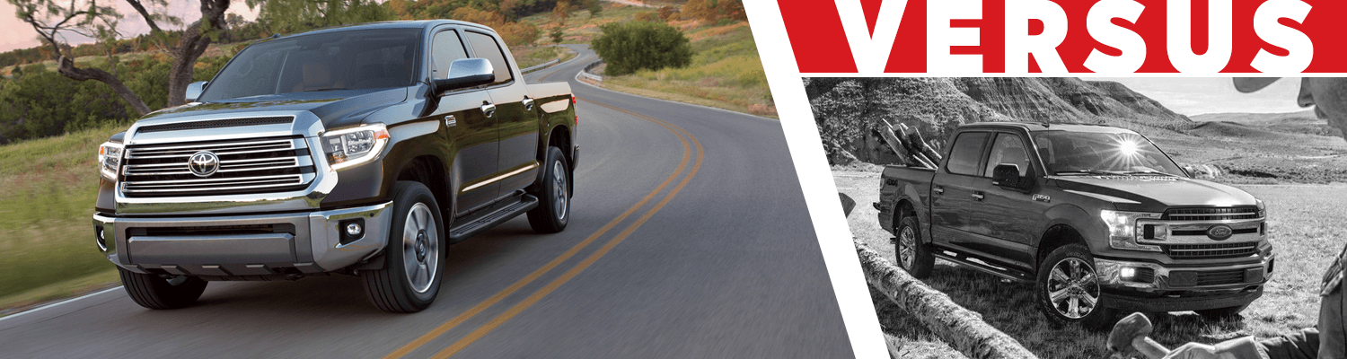 Compare the 2018 Toyota Tundra & 2018 Ford F-150 models at Titus Will Toyota in Tacoma, WA