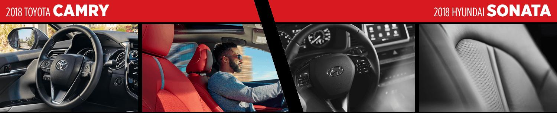 2018 Toyota Camry VS 2018 Hyundai Sonata Interior Comparison