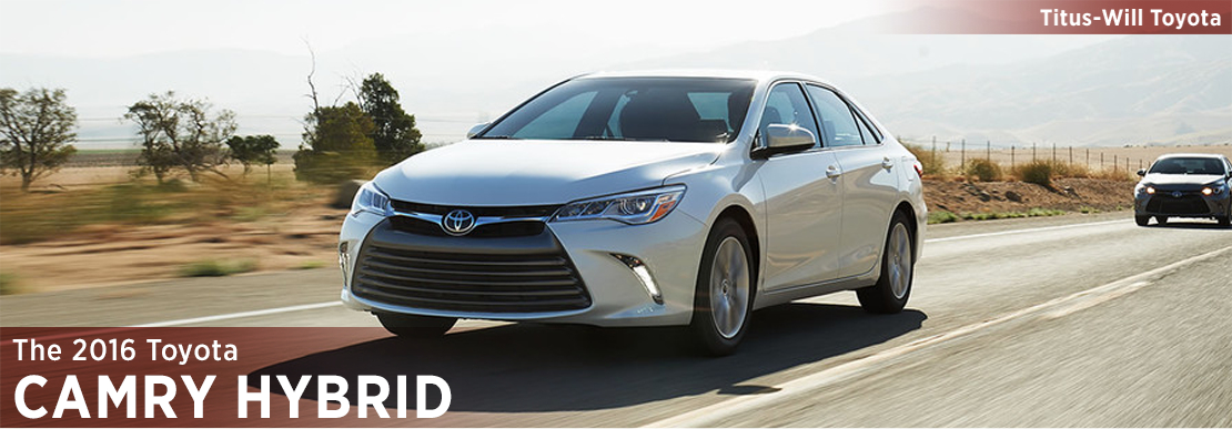 2016 Toyota Camry Hybrid Model Information in Tacoma, WA