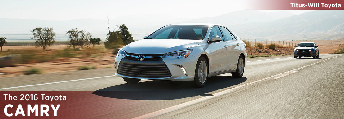 2016 Toyota Camry Model Information in Tacoma, WA