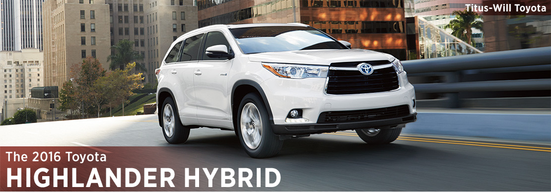 2016 Toyota Highlander Hybrid Model Information in Tacoma, WA