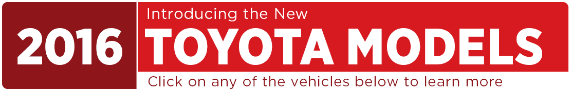 2016 Toyota Model Information in Tacoma, WA
