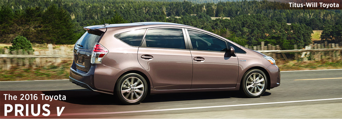 2016 Toyota Prius v Model Information in Tacoma, WA