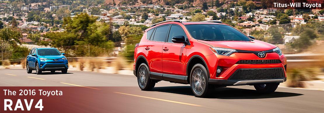 2016 Toyota RAV4 Model Information in Tacoma, WA
